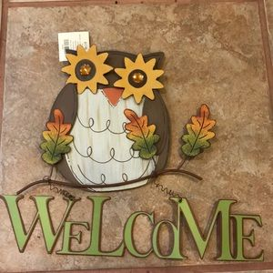 Fall door sign!